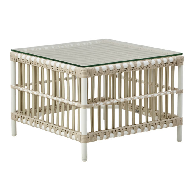 Caroline Table, Dove White