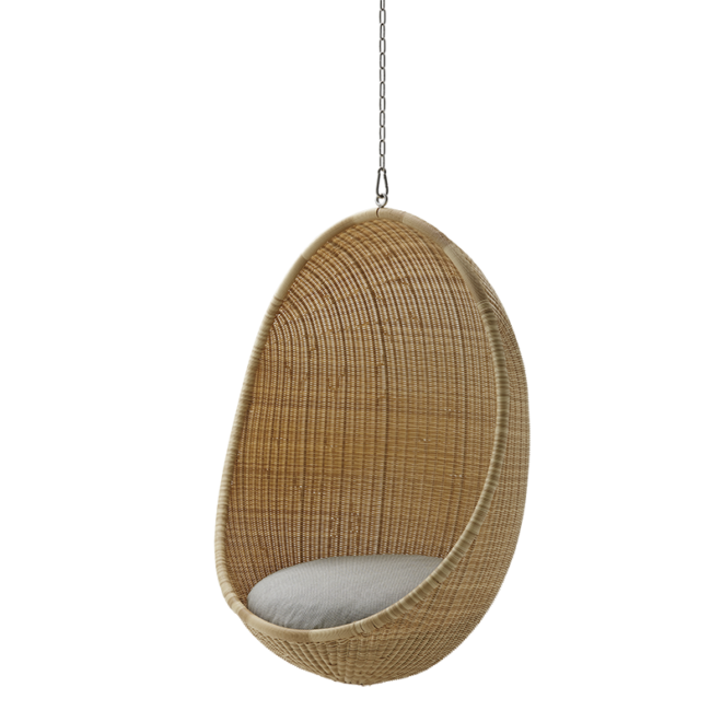 Hanging Egg Chair, Exterior