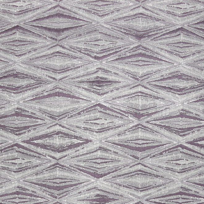 Elsie Patterned Fabric, Silver Lavender R1730-02