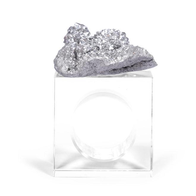 Eros Napkin Ring, Silver