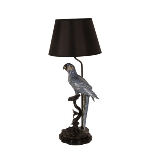Parrot Lamp, Blue Single