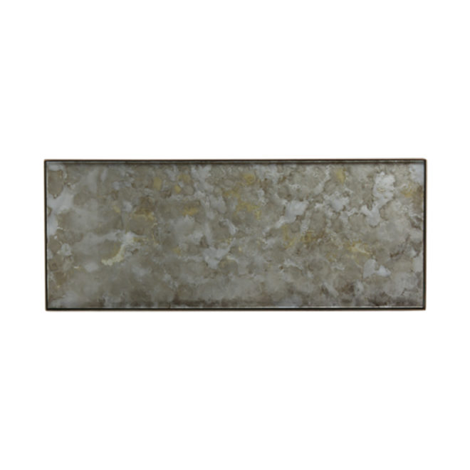 London Essentials - Fossil Rectangular Tray, Large