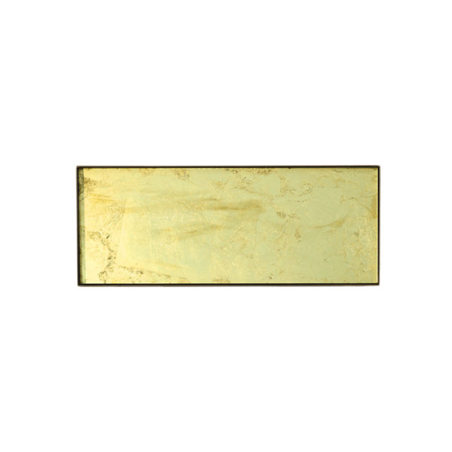London Essentials - Gold Leaf Rectangular Tray, Large
