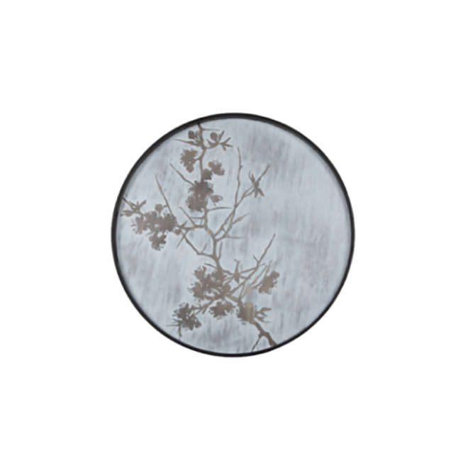 Blossom Driftwood Round Tray, Small