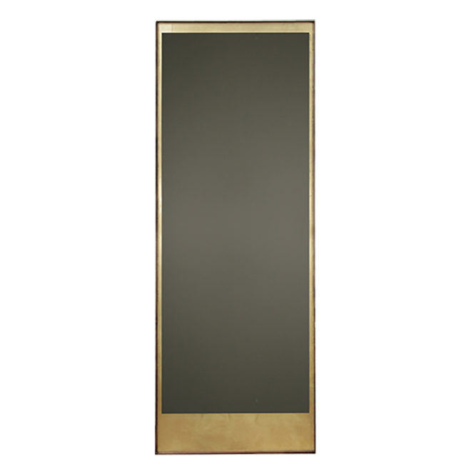 London Essentials - Gold Leaf Floor Mirror